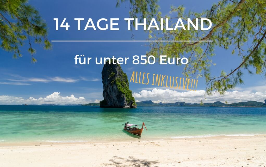 14 tage thailand urlaub f r weniger als 850 euro flug. Black Bedroom Furniture Sets. Home Design Ideas