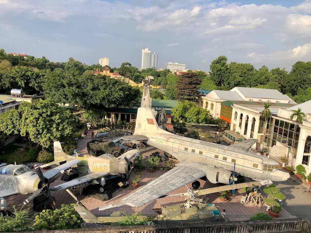 Flag Tower of Hanoi Viewpoint