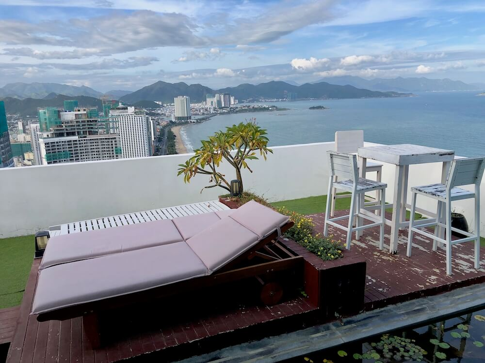 Nha Trang Central Place Apartment Terasse
